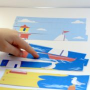 Lighthouse Preschool Number Sequencing Puzzle 3