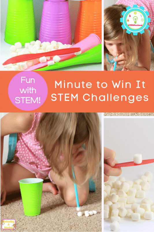 Minute to Win It STEM Challenges