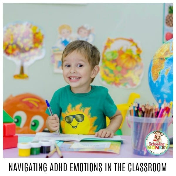 When teaching a child with ADHD, rough days will happen. Use these tips to get through rough patches with ADHD and emotional outbursts and help your child learn! The key to success for a child with ADHD is to learn emotional regulation and impulse control.