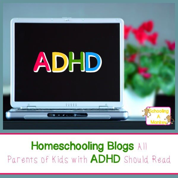 Are you homeschooling a child with ADHD? You won't want to miss the amazing ADHD resources provided by these ADHD homeschooling blogs!