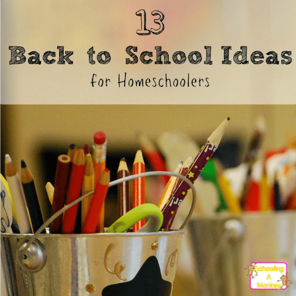 It's time for back to homeschool! Make your back to school time a blast with these fun back to homeschool ideas that make back to school fun!