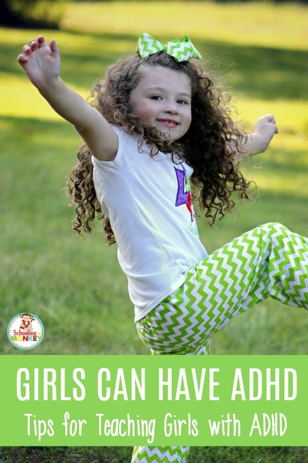 Daughter always distracted? She might be showing signs of ADHD in girls. Use these tips to make teaching girls with ADHD easier, at home and in the classroom. Girl ADHD is real, and it's hiding in our classrooms.  #adhd #teachingtips #sped #specialneeds