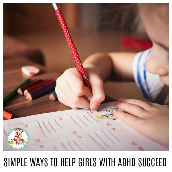 Daughter always distracted? She might be showing signs of ADHD in girls. Use these tips to make teaching girls with ADHD easier, at home and in the classroom. Girl ADHD is real, and it's hiding in our classrooms.