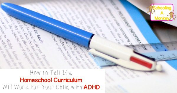 Have you ever tried to get an ADHD kid to use a regular textbook? Avoid the pain by picking the best homeschool curriculum for ADHD kids the first time!