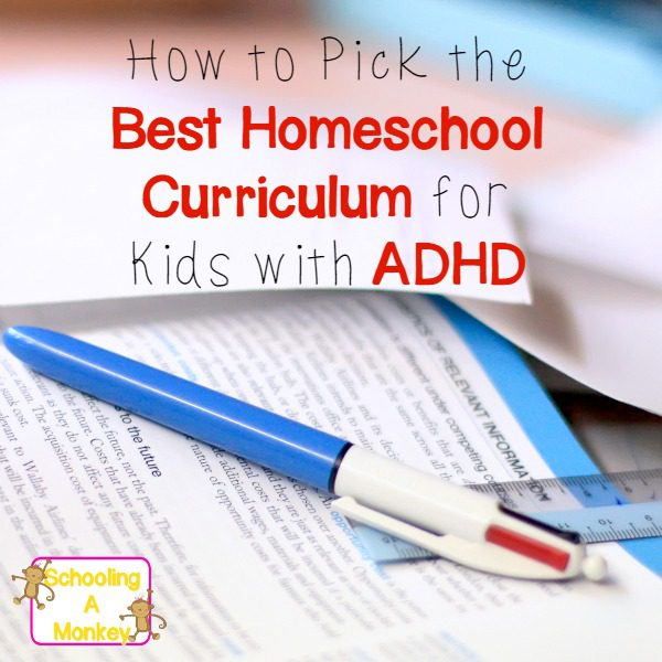 homeschool curriculum for adhd f
