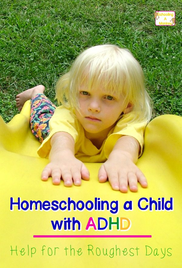 When homeschooling a child with ADHD, rough days will happen. Use these tips to get through rough patches in homeschooling and help your child learn!