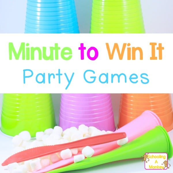 STEM Minute to Win It Games for Kids