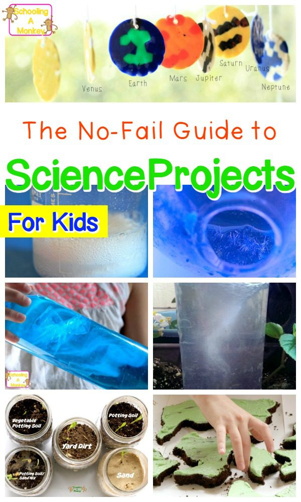 Looking for science experiments for kids? These school science projects for kids are the perfect science projects for kids to use for school science fairs and science learning with kids! #scienceexperiments #science #stemactivities #kidsactivities