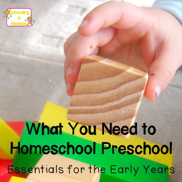What You Need to Homeschool Preschool Without Spending a Fortune