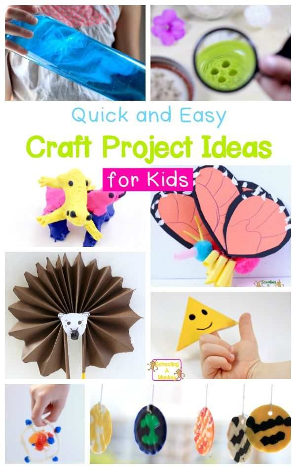Craft Projects For Kids They Ll Love
