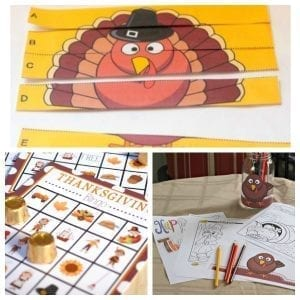 Remove the Agony from Thanksgiving with These Printables