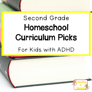 2nd Grade Homeschool Curriculum Review for Kids with ADHD