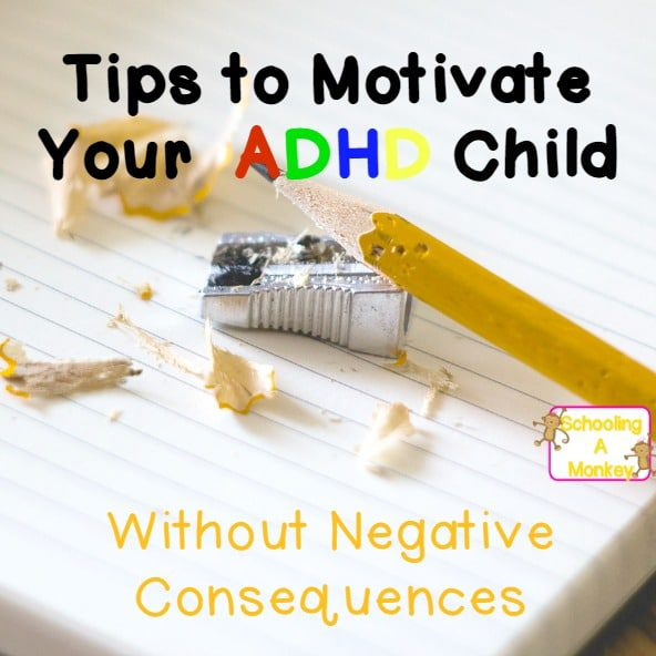 If you are teaching a child with ADHD, use these ADHD motivation tips to keep them on track and avoid power struggles at home or in the classroom. ADHD motivation doesn't have to be difficult and these tips will help keep ADHD kids motivated when doing homework.