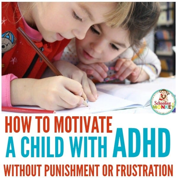If you are teaching a child with ADHD, use these ADHD motivation tips to keep them on track and avoid power struggles at home or in the classroom. ADHD motivation doesn't have to be difficult and these tips will help keep ADHD kids motivated when doing homework. #adhd #teachingadhd #specialneeds #teachingspecialneeds