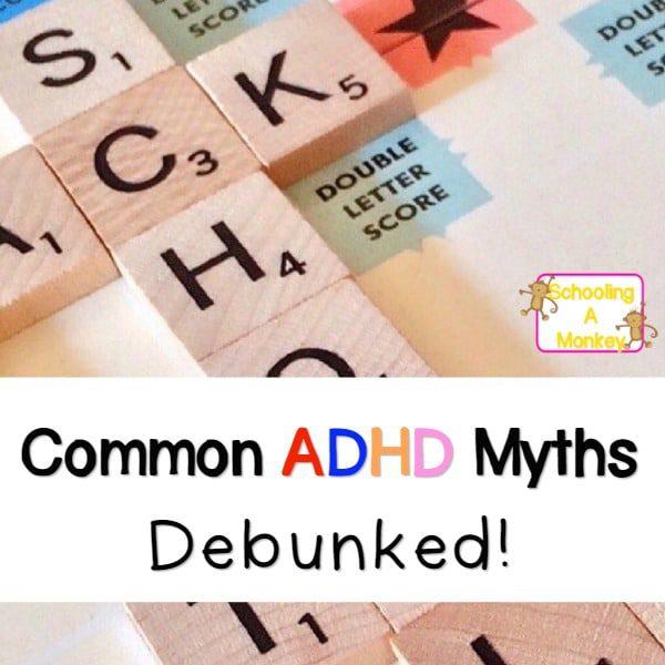 adhd myths f
