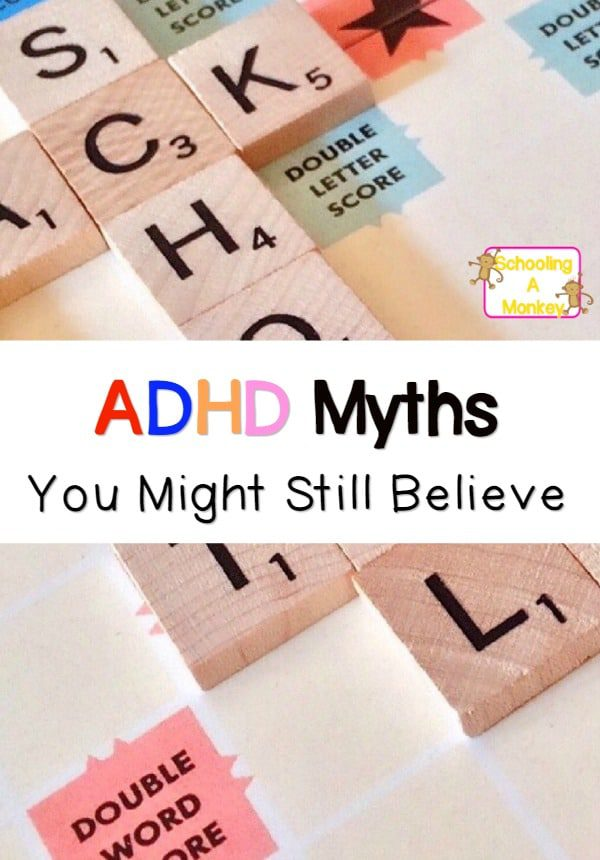 Have you heard these common ADHD myths? It is time to refute these outdated statements once and for all and share the truth about people with ADHD.