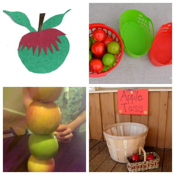 Spice up family game night with these fun apple-themed family fun night ideas! You won't believe how much fun ordinary apples can be.