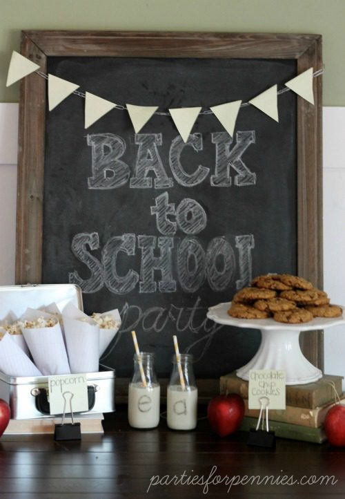Homeschoolers don't have to miss out on back to school party fun! Use these back to school party ideas to make your not back to school party a lot more fun!