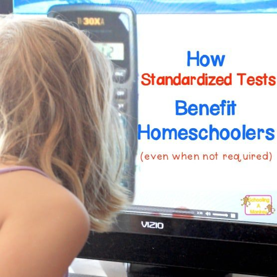 How Standardized Tests Benefits Homeschoolers (even when not required)