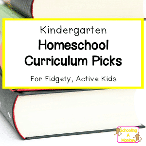 Kindergarten Curriculum Picks for Kids with ADHD