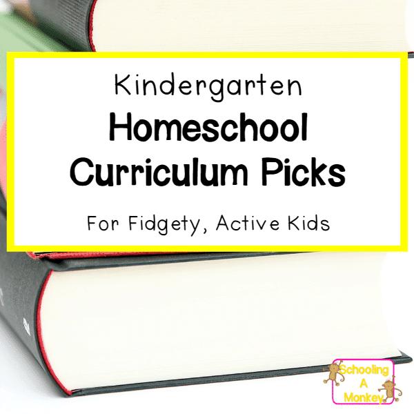 Kindergarten Curriculum Picks for Kids with ADHD