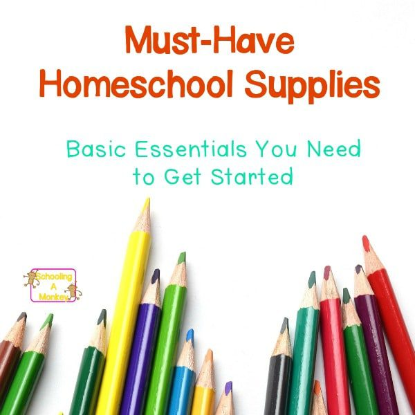Go back to homeschool with this list of must-have homeschool supplies. You will appreciate the simplicity and low-cost of these homeschooling supplies!