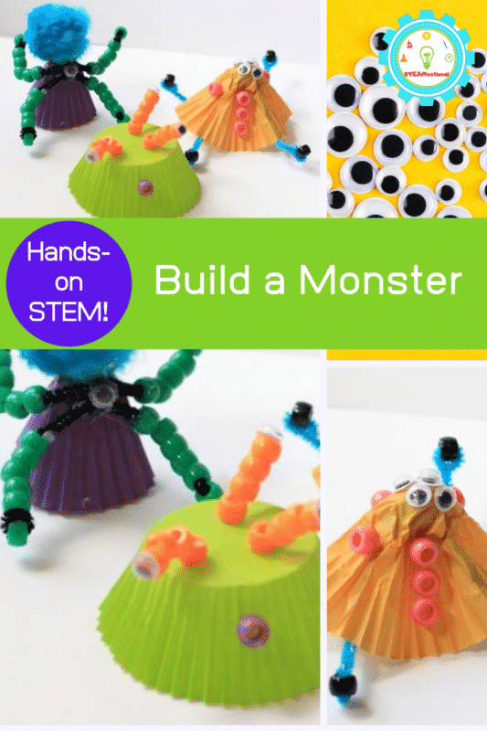 build a monster stem activity