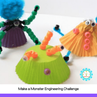 Build Your Own Monster STEM Activity for Kids!