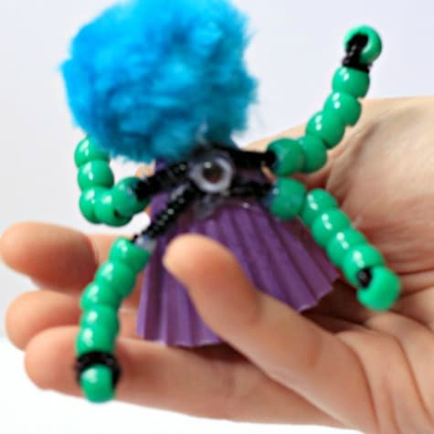 This monster craft engineering activity is super fun for kids of all ages.