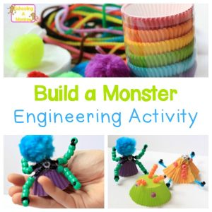 Halloween Engineering Activity: Build a Monster Craft
