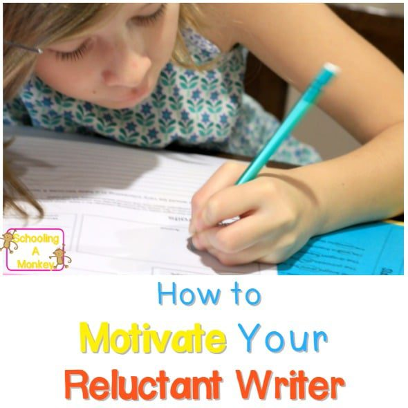 One Simple Trick for Motivating Reluctant Writers