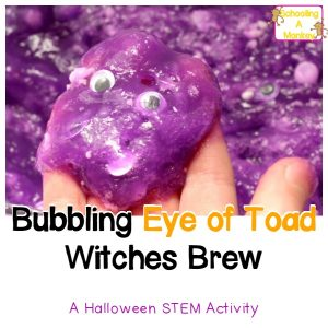 Slime Fun: Bubbling Eye of Toad Witches Brew