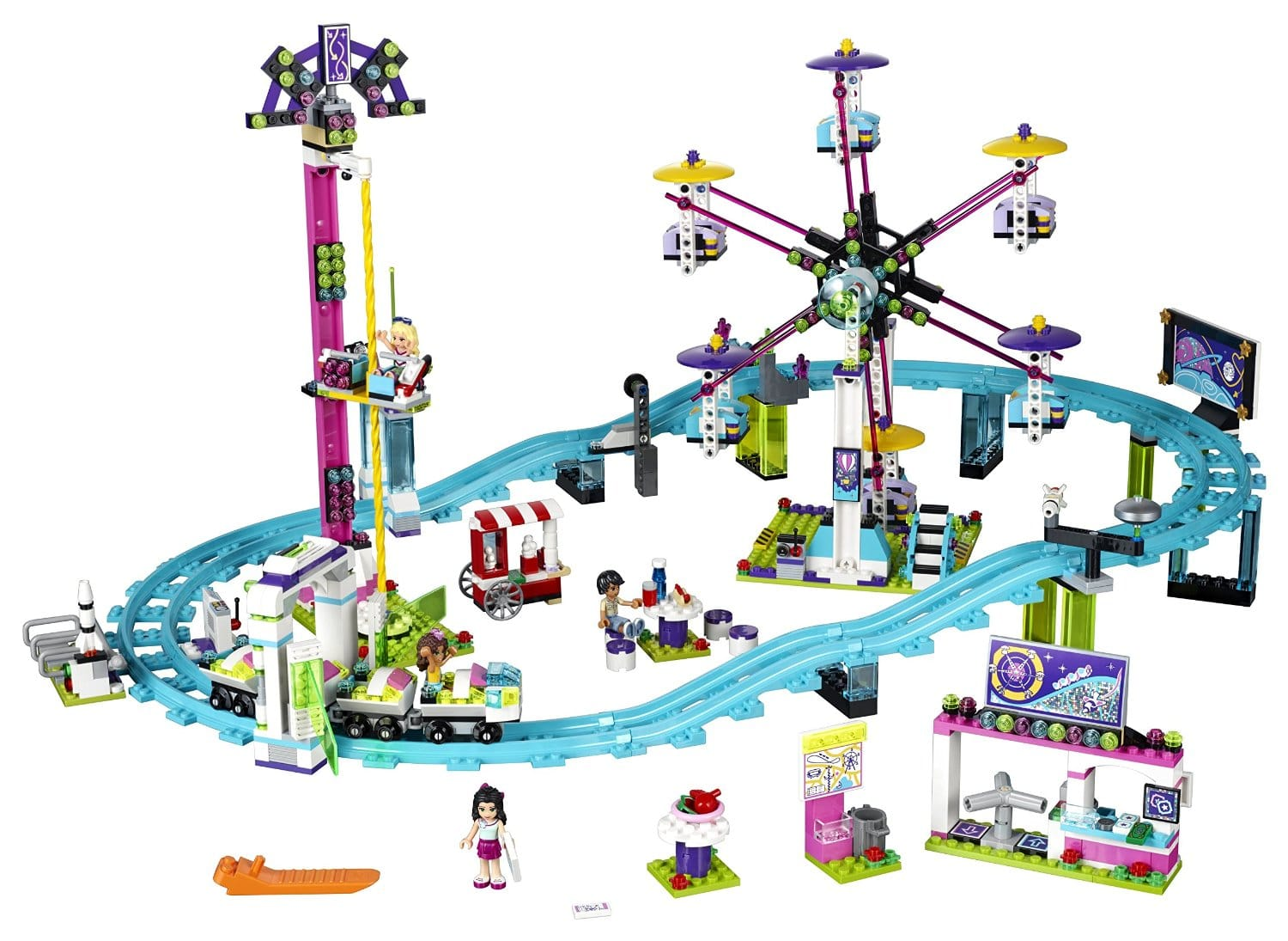 Gift ideas for 10 year old girl: Lego roller coaster