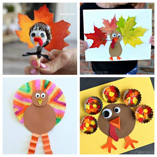 21 adorable turkey craft ideas and activities for kids for Thanksgiving craft ideas for kindergarten