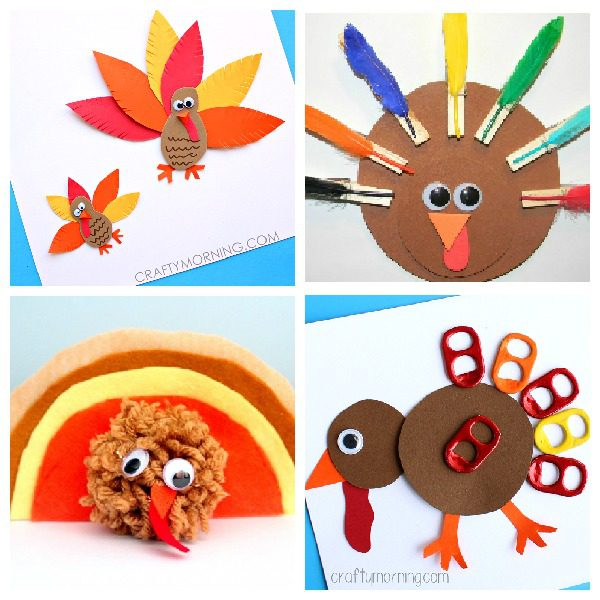 Looking For A Fun Craft To Try This Thanksgiving You Can Go Wrong With Any Simple Paper