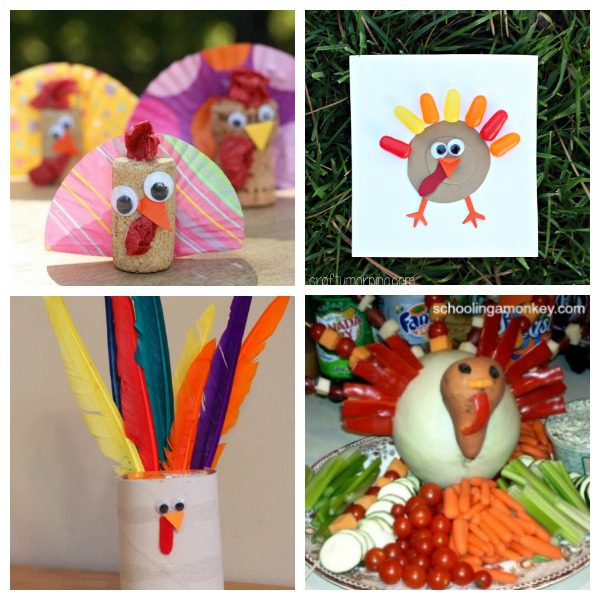 Thanksgiving Craft Ideas For Kids Part - 49: Looking For A Fun Craft To Try This Thanksgiving? You Can Go Wrong With Any