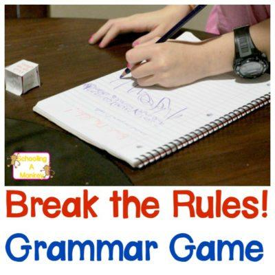 Fun Grammar Games: Break the Rules! Game for Kids