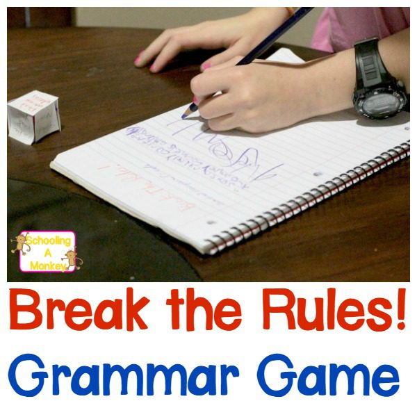 Fun Grammar Games: Break the Rules! Game for Kids