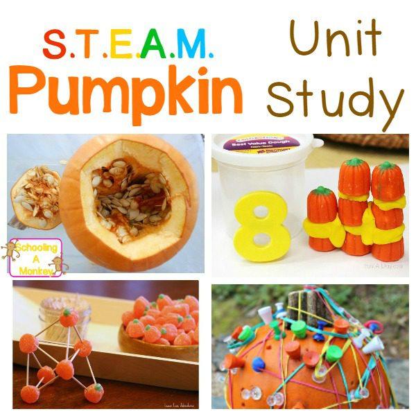 Pumpkin STEM Activities For Kindergarten and Preschool