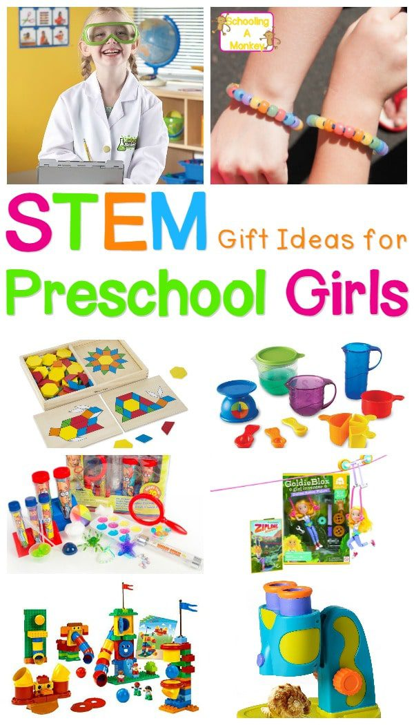 Have a little female science lover in your house? These science gifts for girls are ideal for girls in preschool through second grade.