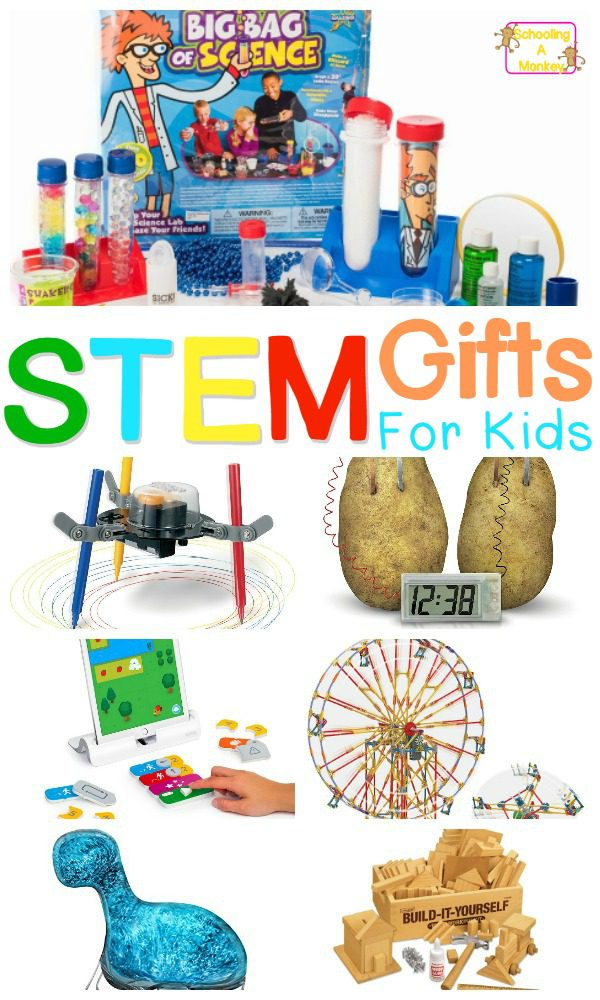 Have a scientist in your house? Give them a gift of science for their birthday or Christmas. These STEM gifts for kids are perfect for kids of all ages.