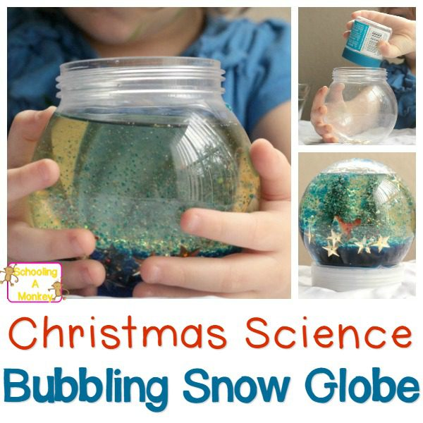 Have a Chemistry Christmas: DIY Bubbling Snow Globe