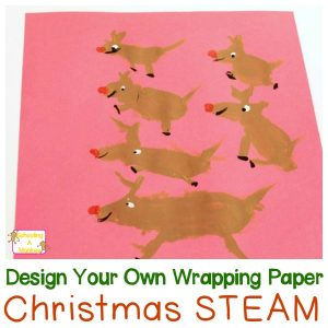 Christmas Activities for Children: Design Your Own Wrapping Paper