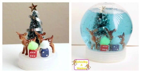 Kids will love this creative STEAM project where they get to design their very own snow globe. Truly cool STEM experiments!