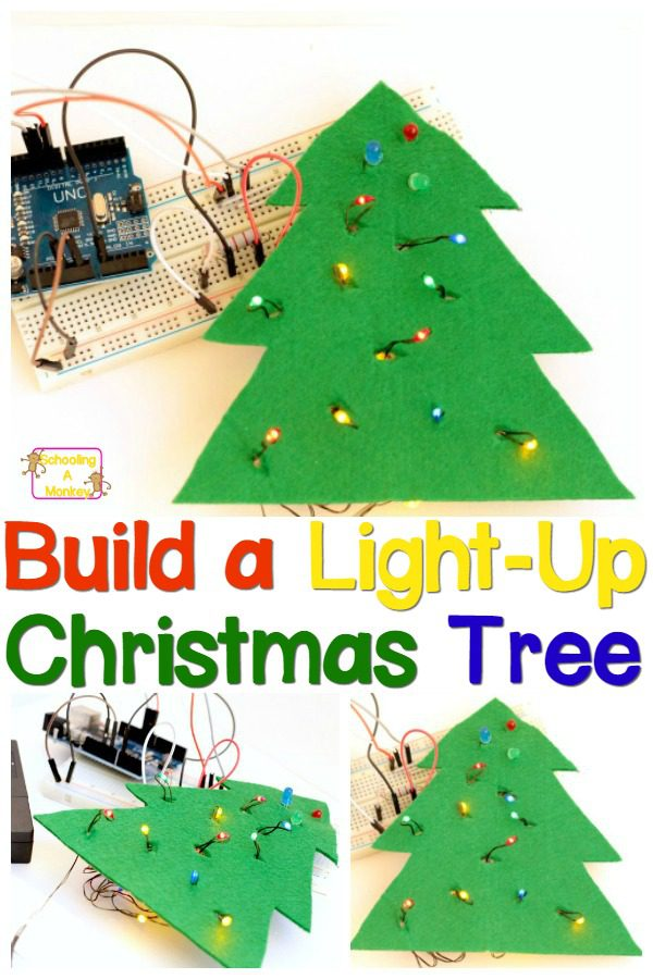 If your kids are budding engineers, they will love these engineering project ideas to light up a Christmas tree! Technology and engineering in one!