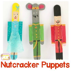 Nutcracker Craft Ideas: Popsicle Stick Nutcracker Puppets