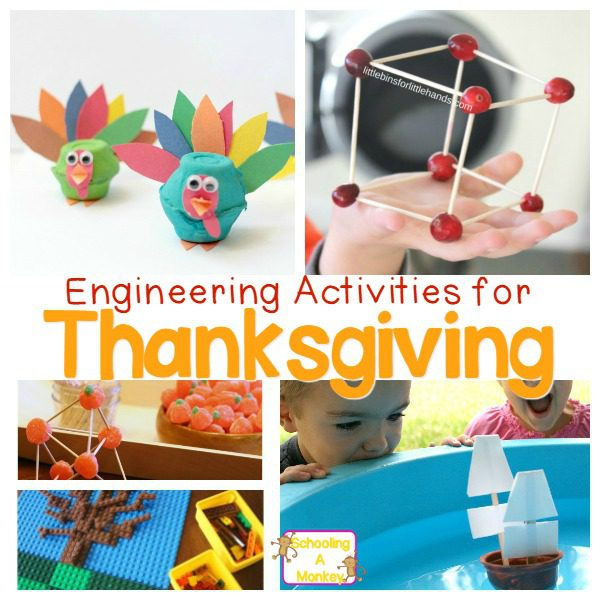 Thanksgiving Engineering Activities for Elementary