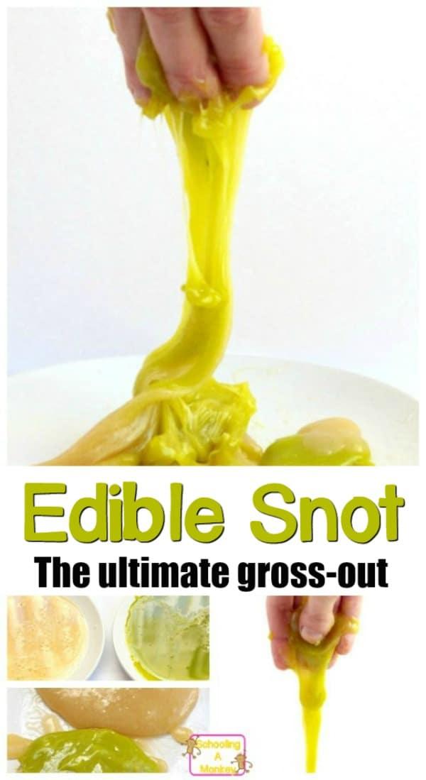 edible snot slime