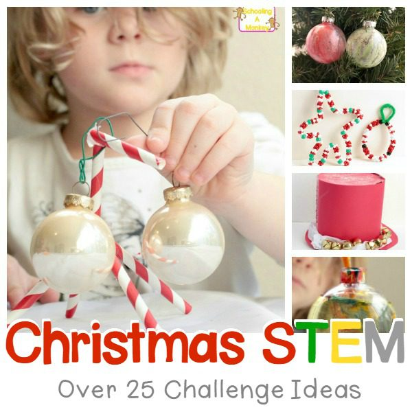 If you really love Christmas, you'll love these amazing Christmas STEM challenge ideas for kids of all ages. Christmas has never made you this smart!