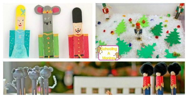 If you love The Nutcracker ballet, you will definitely want to make these Nutcracker crafts for kids with your children! The ballet has never been so fun!